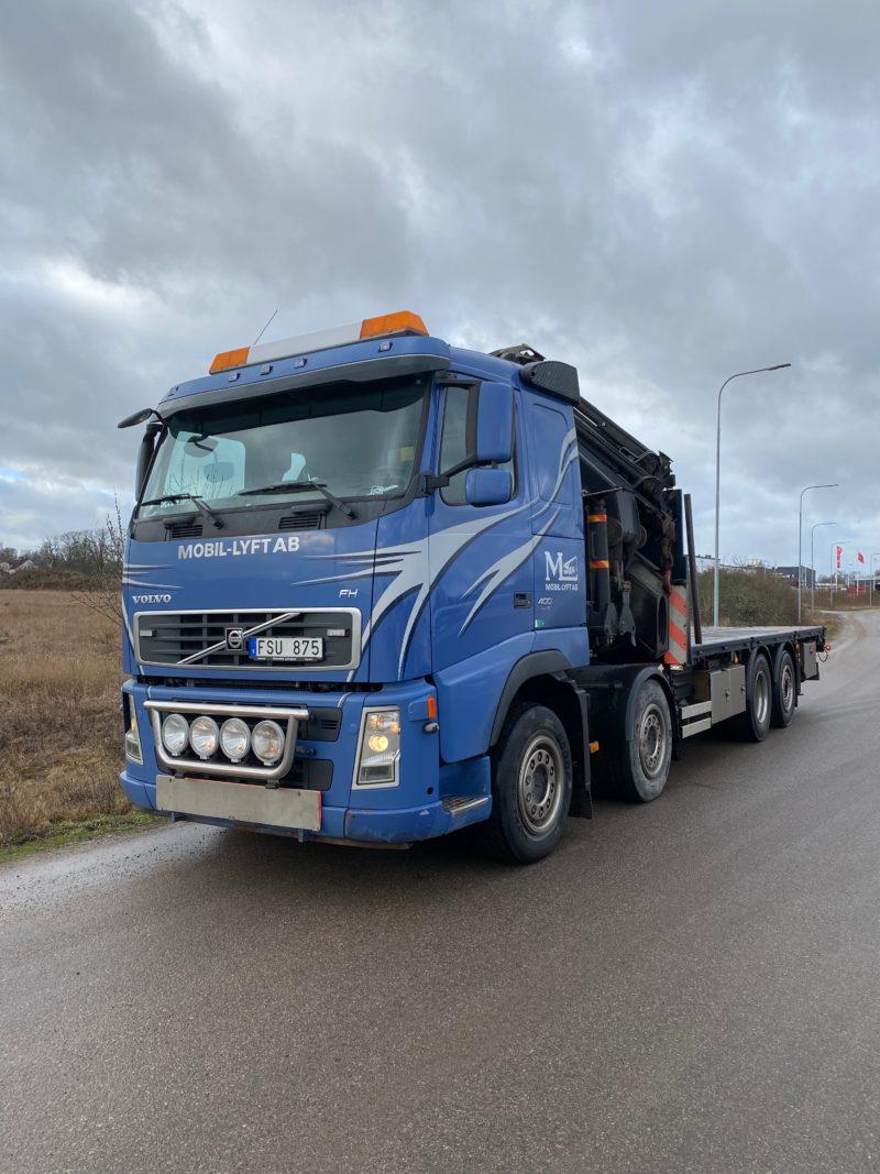Lastbilskran 62 t/m.